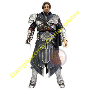 Assassin S Creed Brotherhood Ezio Figure In Unhooded Onyx Outfit