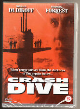 CRASH DIVE - MICHAEL DUDIKOFF, FREDERIC FORREST - NEW & SEALED R2 DVD