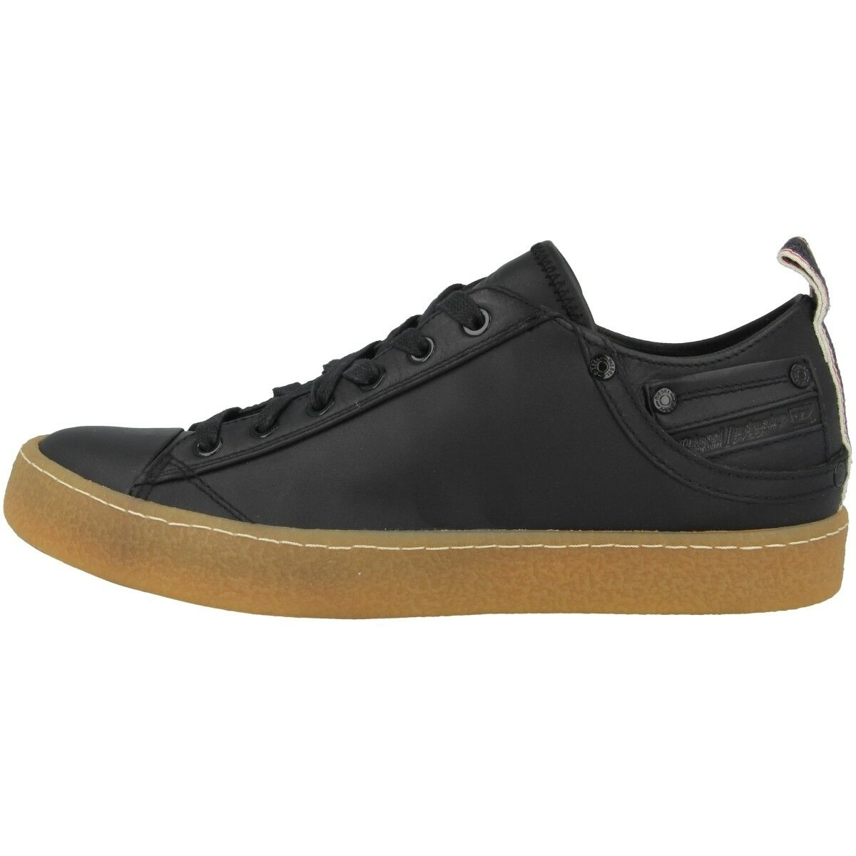 DIESEL EXPOSURE I Informales Low Deportiva Botín Zapatos Informales I Black bc9dfb
