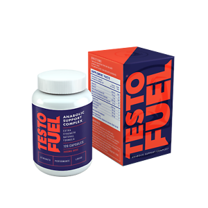 Testo Fuel - #1 Best Testosterone Booster for Men 120 Capsules-Exp 9/22 617401624249 eBay