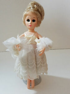 EFFANBEE-JOYOUS-OCCASION-BALLERINA-21100-Girl-Doll-1986-Blond-blue-Eye-VINTAGE