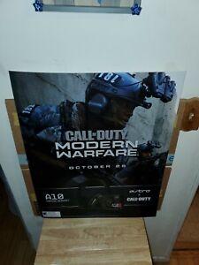 Gamestop Call Of Duty Modern Warfare 2 Promo Poster 22 28 Rare