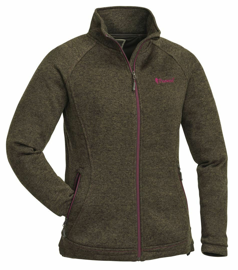 Pinewood Gabriella Membrane Fleece Olive Melange Ladies Hunting Shooting