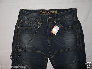Jeans Neighborhood Jeans mit Zier- und Kontrastnähten Gr. 32 Skaterhosen
