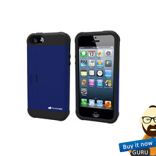 GENUINE MUZZBE 3 IN 1 STAND CARD HOLDER ANTI SHOCK CASE COVER FOR IPHONE 5 5S SE