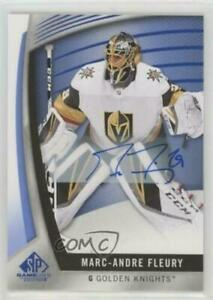 2017-18-UD-SP-Game-Used-Blue-Autograph-23-Marc-Andre-Fleury-Auto-Card