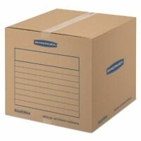 Bankers Box Smoothmove Basic Corrugated Moving/shipping Boxes - Fel7713901 on sale