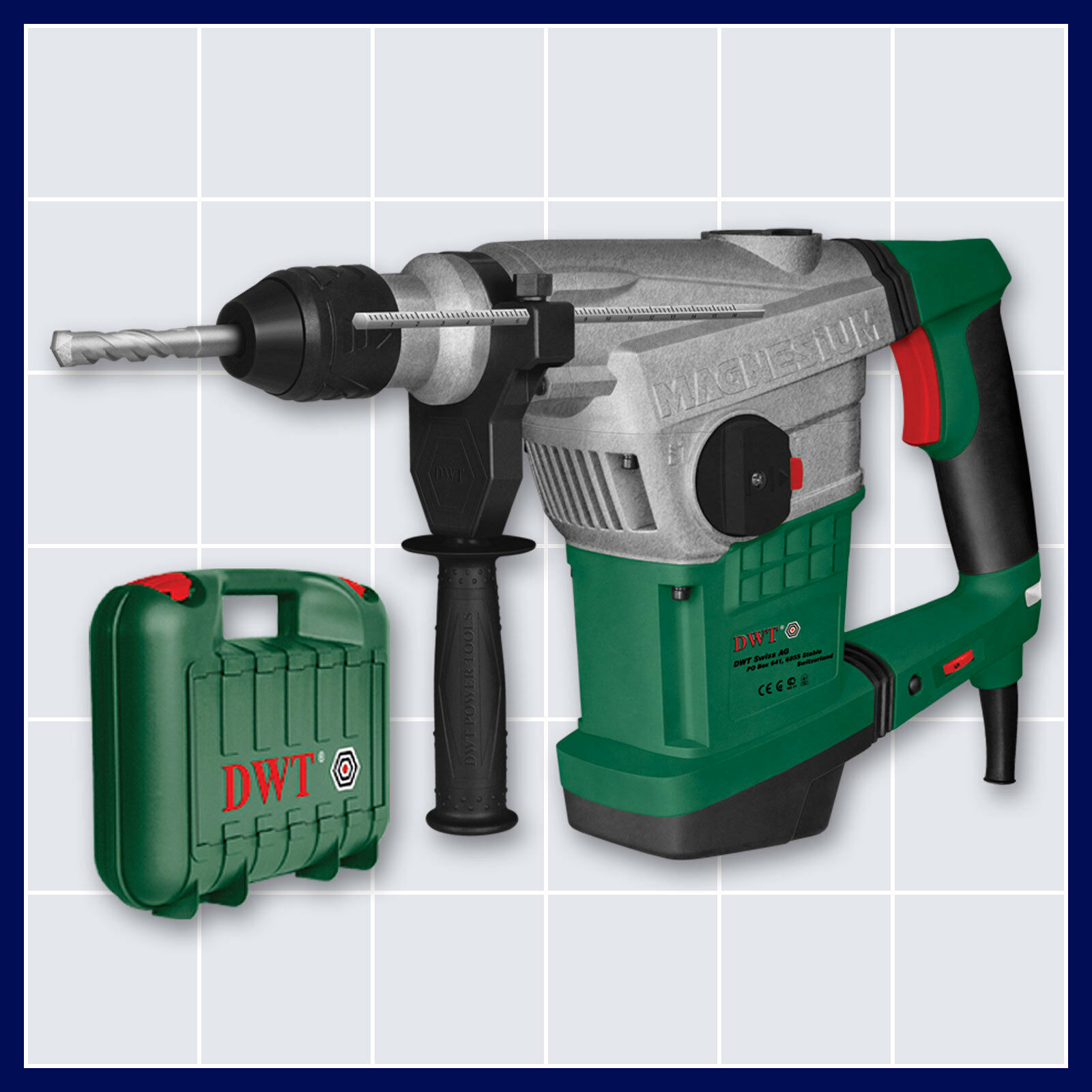 pneumatik bohrhammer sds max mit schlagzahlregler und mei el funktion 1250 watt ebay. Black Bedroom Furniture Sets. Home Design Ideas