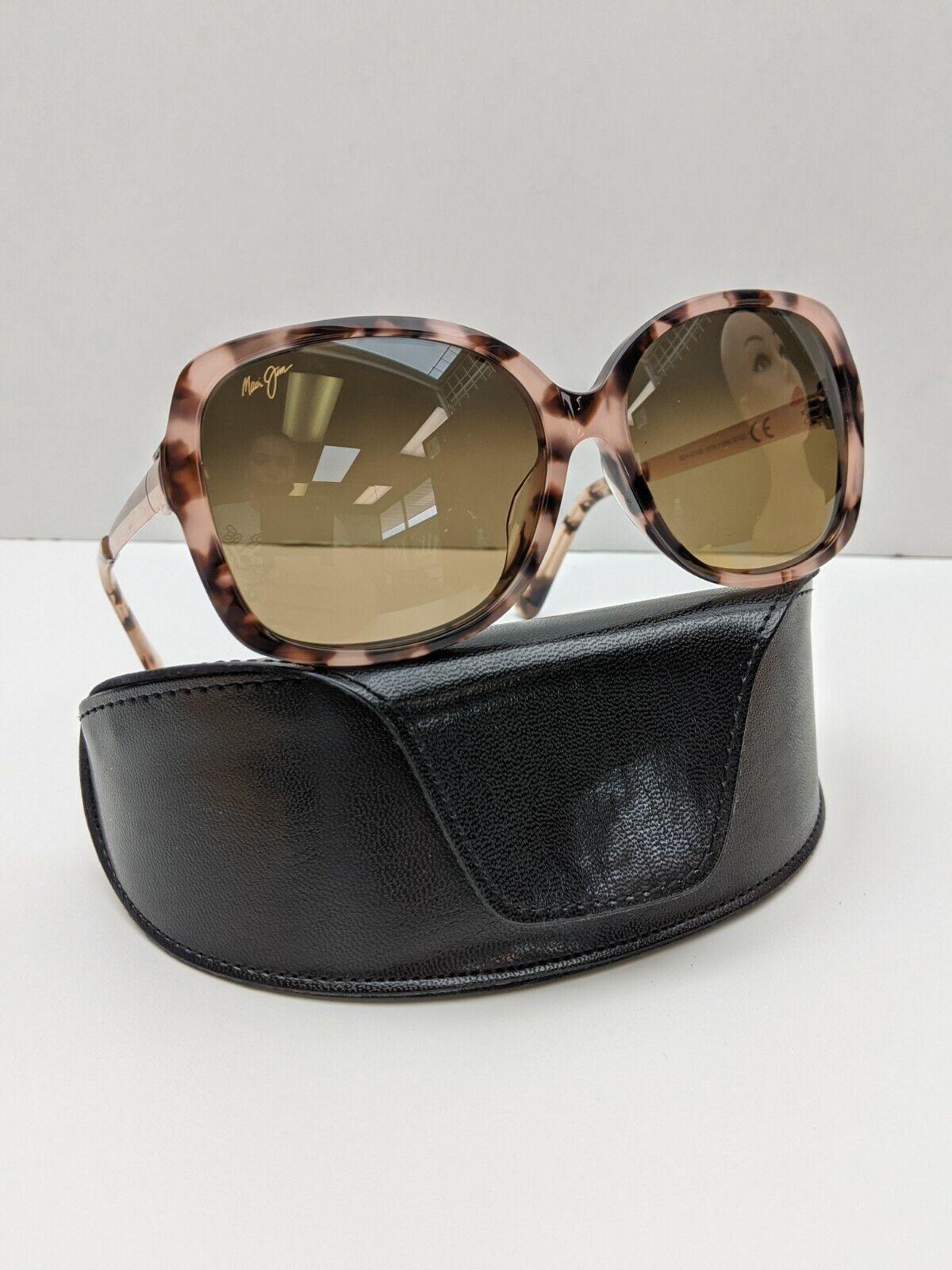 Custom! Italy! Maui Jim Melika MJ760-09T Women's Sunglasses 58/16 140 /POD422