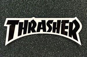 Thrasher-Logo-Skateboard-sticker-5-5in-black-si