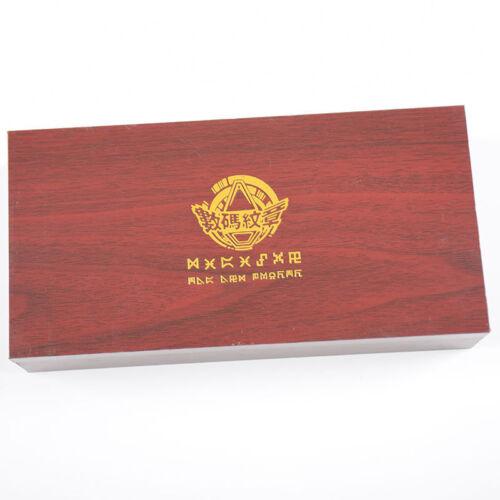 NEU Digimon Adventure Tags/&Crest Emblem Anhänger Halskette 11pcs Collection Box