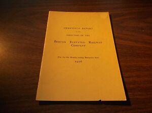 1916 BOSTON ELEVATED RAILWAY COMPANY TWENTIETH ANNUAL REPORT