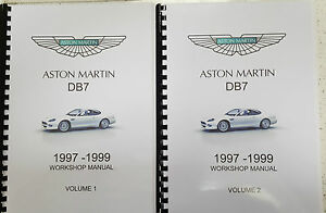 aston martin db7 workshop manual 97 99 reprinted a4 comb bound 797 rh ebay co uk aston martin db7 owners manual aston martin db7 service manual