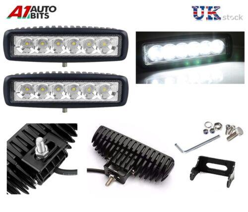 "LED DRL Fog Slim Spot Lights 6.29/"" 12V  FOR VW TRANSPORTER T4 T5 CADDY 18W"