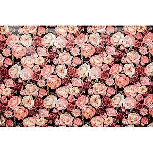 wachstuch tischdecke meterware motive rosen rosenmuster landhaus ebay. Black Bedroom Furniture Sets. Home Design Ideas