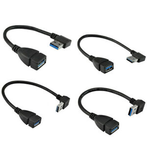 1X-Usb-3-0-Cable-D-039-Extension-D-039-Angle-De-90-Degres-Male-A-Corde-De-Donnee-D-039-A-hu4