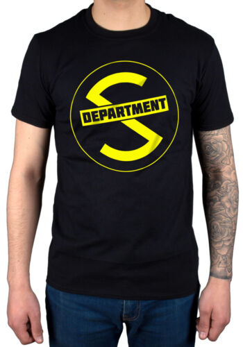 Official Department S Logo T-Shirt New Licensed Merch Is VIc There When All Is