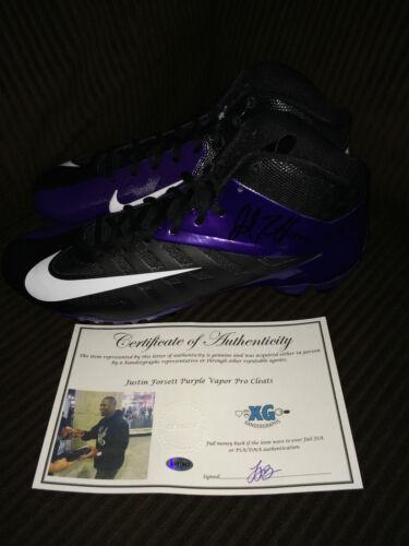 Calcio test Forsett Certificato Stivaletti Ravens di Steam Scarpe autenticità Pro Esatto Justin Nike wtqFppH