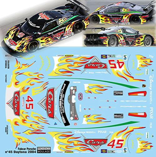 Fabcar Porsche #45 Daytona 2004 Gunnar racing 1:43 decal estampado