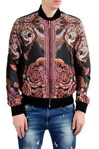 Versace Collection Men/'s Reversible Full Zip Windbreaker Jacket Size S M L XL