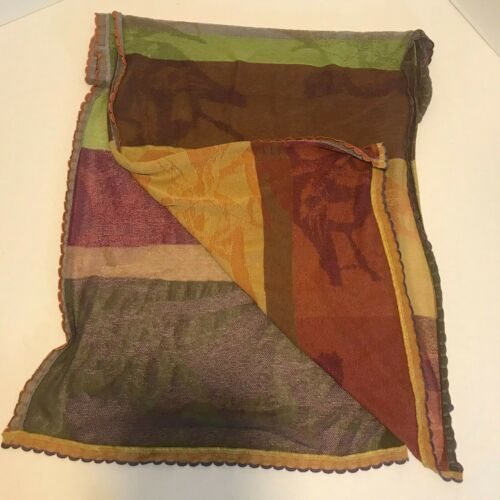 Catherine Andre Scarf Wrap - Fall Colors - Lightwe
