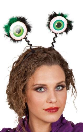 Kopfbügel mit Froschaugen Frosch Haarreif Karneval Fasching