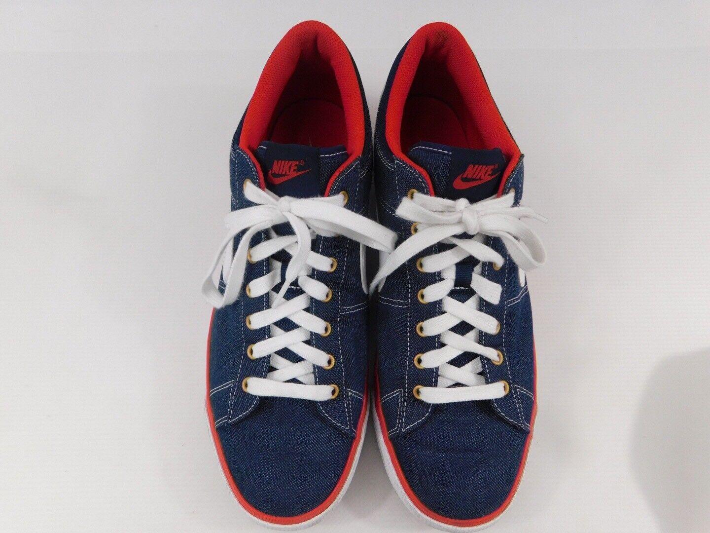 Nike 631658-416 Match Supreme Premium Red White Blue Athletic Men's Shoes Sz 13