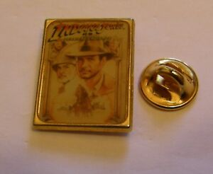 INDIANA-JONES-AND-THE-LAST-CRUSADE-LUCAS-FILMS-vintage-pin-badge