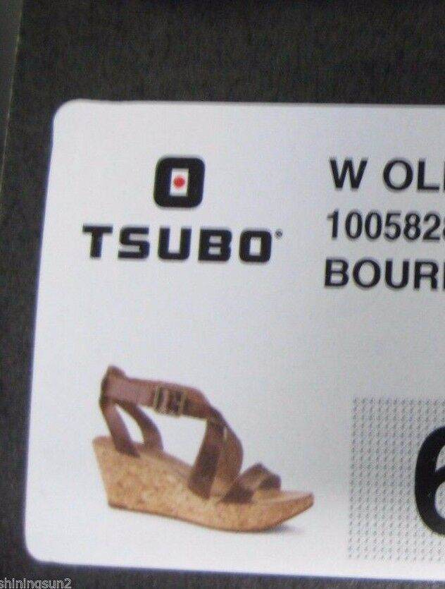 Tsubo Olivette Bourbon or Women Wedges US 9.5 or Bourbon 10 7fcb69