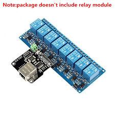 Ethernet Control Module LAN WAN Network WEB Server RJ45 Port For 8 Channel Relay
