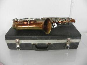 Selmer Bundy-II Alto Saxophone, USA, Complete Neck/MP/Case, Acceptable Condition