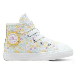 Star 1V Floral High Top Sneakers Size