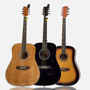 Heartland Spirit Dreadnought Steel String Guitar Kits, Beginner Guitar Kits