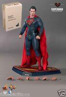 2013 Hot Toys 1/6th Dc Comics Man Of Steel Superman Mms200 Sealed Brown Box