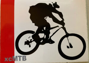 Mountain bike stickers decal Single Speed singlespeed SS Cycling MTB unique