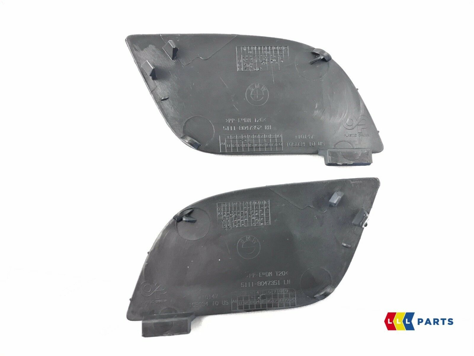 BMW Genuine X5 Series E70 10-13 Front M Sport Bumper Tow Cover Kit 5111 8050697