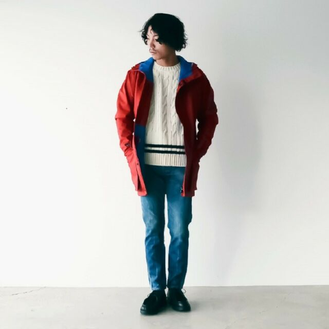 a9240f52979d Nigel Cabourn K100 Red Technical Parka