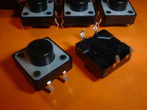 10x-Taster-Mini-Taster-12x12x7-3mm-Tactile-Switch
