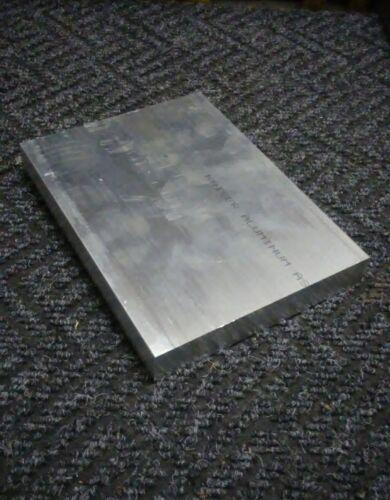 .5X4X8 new 6061 solid aluminum stock plate flat bar cnc mill milling tool 1//2