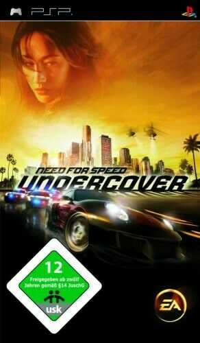PSP / Playstation Portable - Need for Speed: Undercover dans l'emballage utilisé