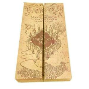 Harry-Potter-Hogwarts-The-Marauder-039-s-Map-Kraft-Paper-The-Wizarding-World-77-22cm