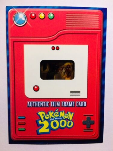 Pokemon the movie 2000 Ultra Ultra Rare authentic film Topps card gem mint!