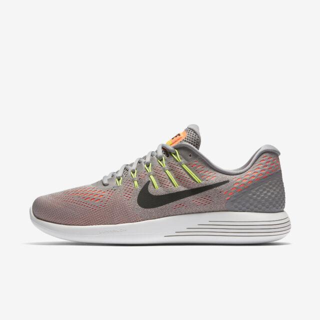 cb18dd741866 Nike Men s Lunarglide 8 Dust black hyper Orange Running Shoe 8 Men ...
