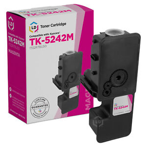 LD-Compatible-Kyocera-TK-5242M-1T02R7BUS0-Magenta-Toner-for-M5526cdw-P5026cdw