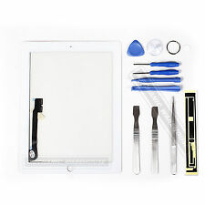 For The NEW IPAD 3 iPad 4 3g Wifi Glass Digitizer Touch Screen White Replacement