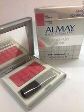 Almay Hypo-Allergenic Brush-On Blush #13195 Silkberry NIB .17 oz FRAGRANCE- FREE