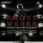 Weber: Clarinet Concertos & Quintet Super Audio CD (CD, Oct-2006, BIS (Sweden))