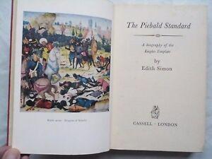 EDITH-SIMON-THE-PIEBALD-STANDARD-KNIGHTS-TEMPLARS-1ST-1-H-B-1959-B-W-ILLS-MAPS