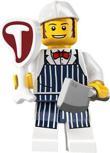Lego-minifig-series-6-BUTCHER-city-suit-castle-city-sets