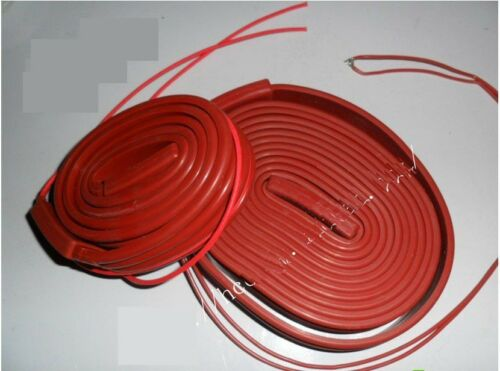 220VAC 400W 25*4000mm Silicon Band  Heater Strip waterproof